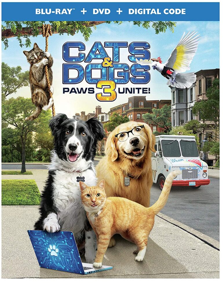 Kids DVDs Cats and Dogs 3