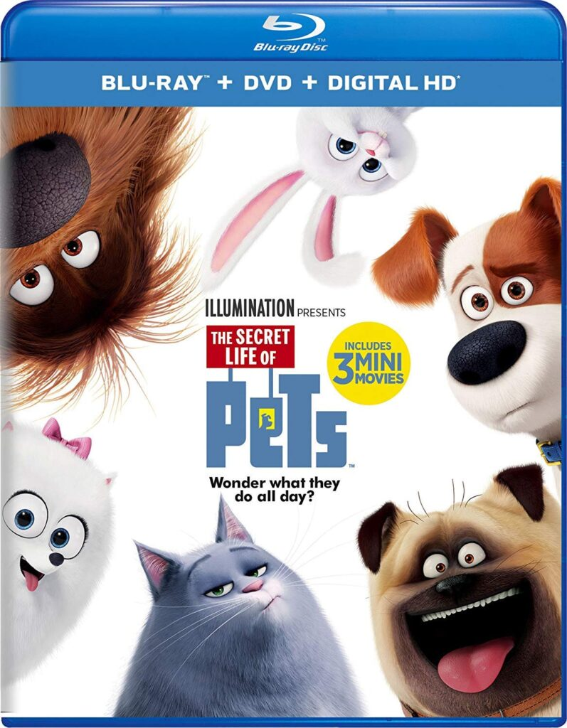 Kids DVDs secret life of pets