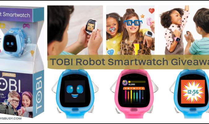 Tobi Robot Smartwatch Giveaway