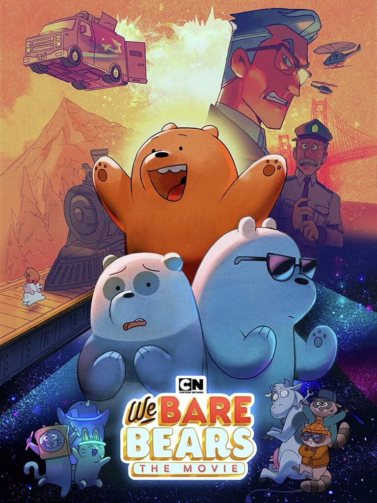 Kids DVDs We Bare Bears