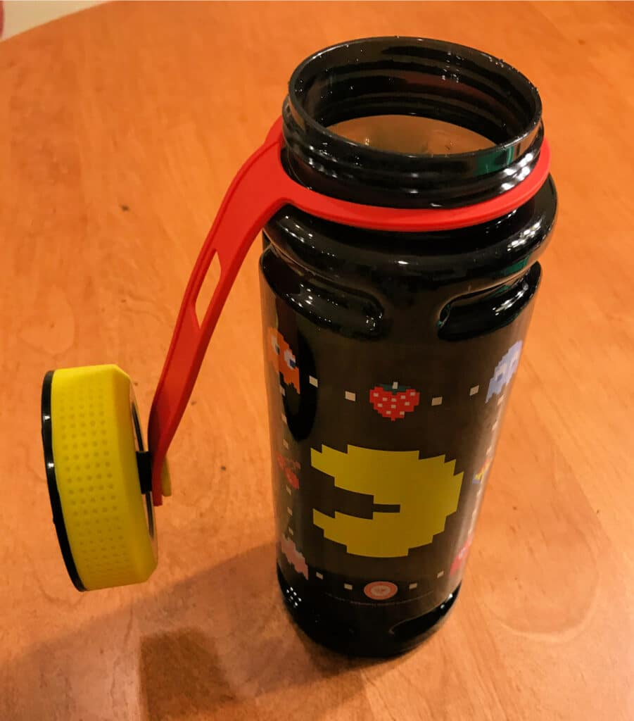 Pac-Man water bottle