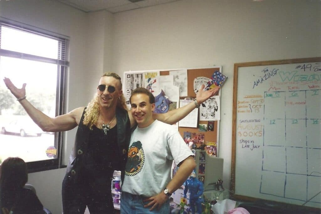 Dee Snider at Wizard