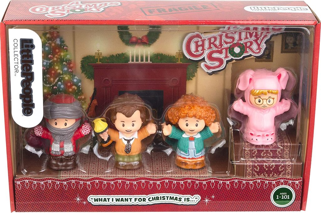 Little People A Christmas Story box