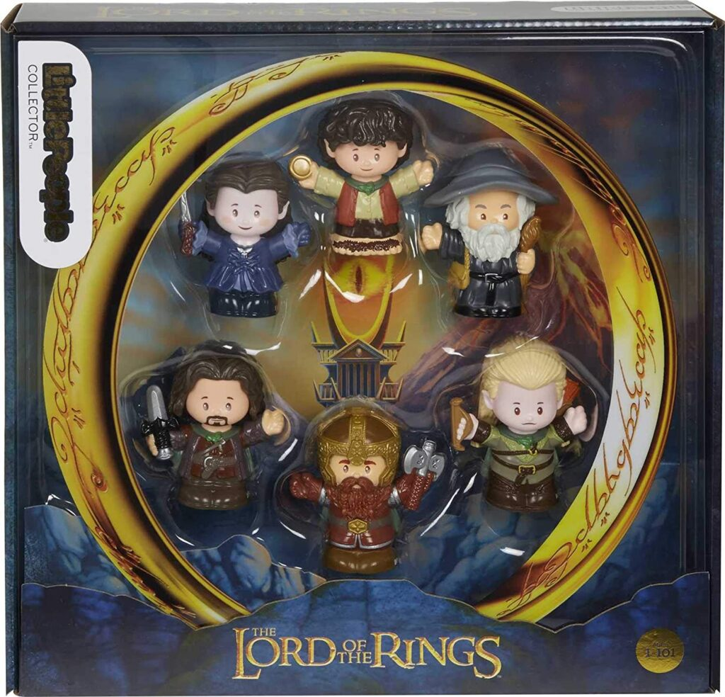 Little People Lord of the Rings box set
