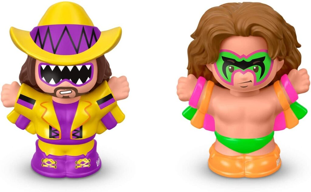 Little People Macho Man and Ultimate Warrior