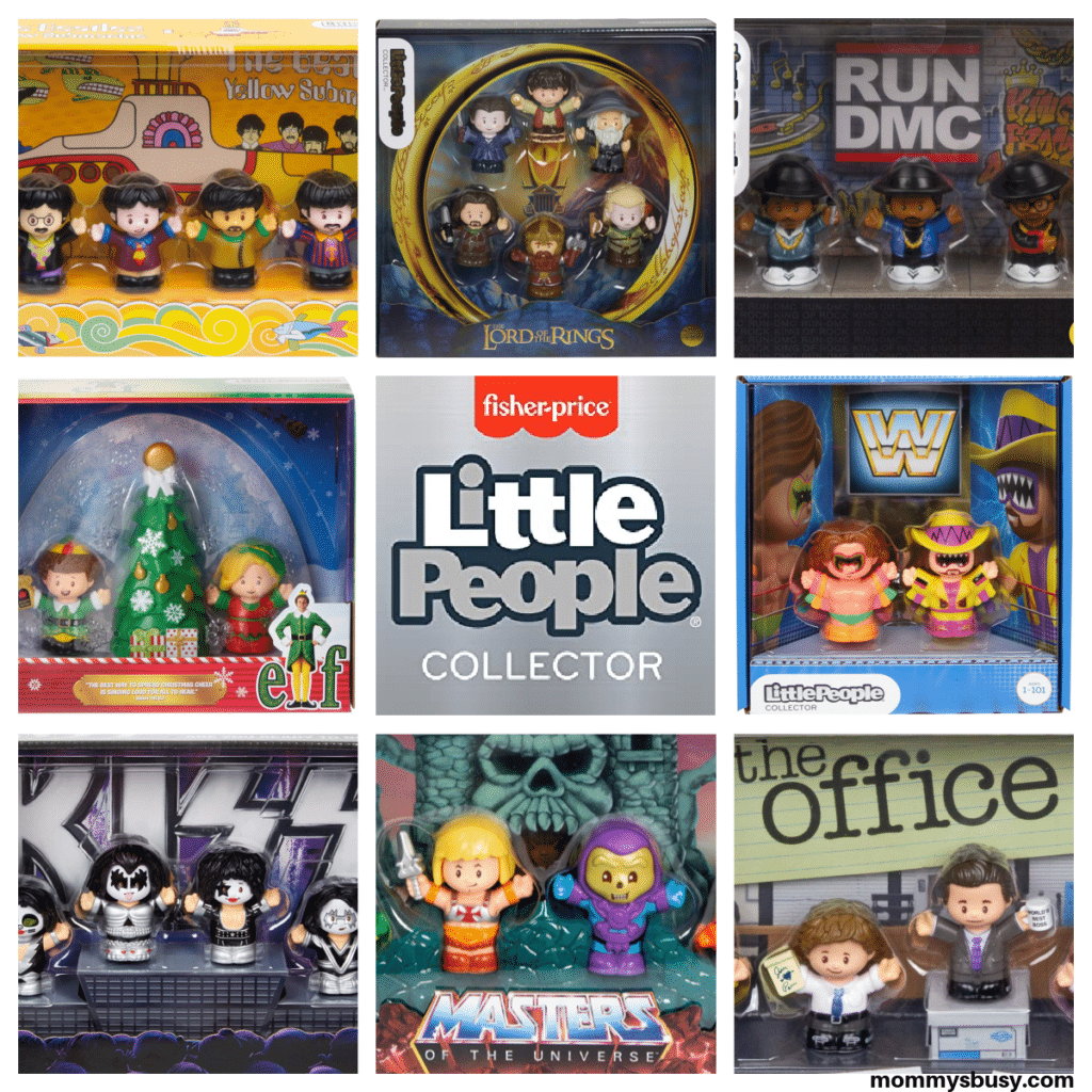 Fisher Price Little People Collector Sets